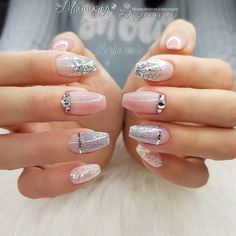 Are you looking for a way to make your nails stand out? Then you can't miss the nail designs. nail art becomes increasingly popular and looks fabulous. Generally speaking, nail designs can…More 3d Nail Designs, Acrylic Nail Designs, Nude Nails, Gel Nails, Coffin Nails, Acrylic Nails, Gorgeous Nails, Pretty Nails, Romantic Nails
