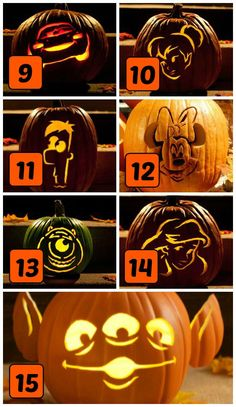 Free pumpkin carving stencils and templates!