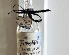 Best Friend Wine Bottle Light You are the Sister I got to Daughter In Law Gifts, Gifts For Your Sister, Sister Gifts, Best Friend Gifts, Lighted Wine Bottles, Bottle Lights, Bottle Lamps, Bottle Art, Engagement Gifts For Him