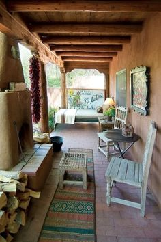 We offer the finest selection of Santa Fe vacation rentals that are fully equipped, beautifully furnished, conveniently located, and full of amenities. Southwestern Home, Southwestern Decorating, Southwest Decor, Southwest Style, Hacienda Homes, Hacienda Style, New Mexico Homes, New Homes, Cabana