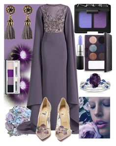 """""""Untitled #53"""" by sin-yasumin ❤ liked on Polyvore featuring MAC Cosmetics, NARS Cosmetics, Laura Mercier, Georges Hobeika, Clinique and Christian Louboutin"""