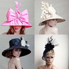 I love hats.  The Brits have it right with their admiration of hats.  But alas, my head is too big...