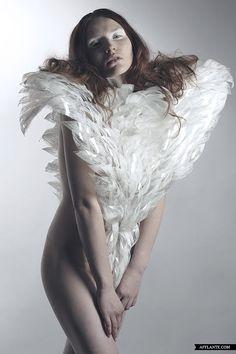 'White Noise' Sculpt Couture - Halina Mrozek