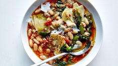 pasta-e-fagioli-with-escarole
