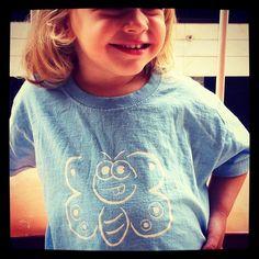 Camisetas niña - Ref.Papallona grahicmamma@gmail.com
