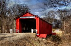 Take a step back in time and enjoy seeing these quaint Illinois covered bridges that are so classically Americana.