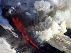 "On November 27th, a Kamchatka volcano called ""Plosky Tolbachik"" awoke and started to erupt."