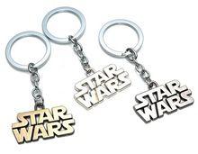 Star Wars STAR WARS keychain de la aleación carta logo colgante(China (Mainland))