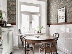 ¿Papel pintado en la cocina? | Etxekodeco