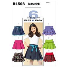 Butterick 4593  2005  Sizes 7-10