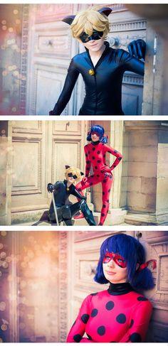 Emi-zone (Emi) - Ladybug cosplay photo | Isamiaella - Chat Noir cosplay photo | Cure WorldCosplay
