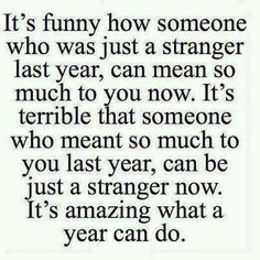 actually people change, not a time ;)