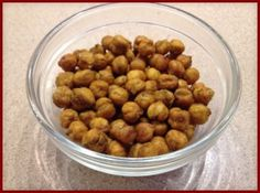 Healthy Snacks: Spiced Roasted Chic Peas Recipe - Nourishment Connection