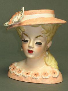 One of my favorite RUBENS lady head vases  by Momsvintagetreasures, $88.00
