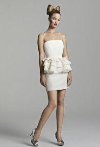short wedding dresses models