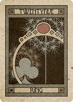 25 Ring - Chelsea-Lenormand Blue by Neil Lovell