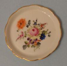 BOUQUET de HEREND China Flowers BHR Vintage BAROQUE Porcelain BUTTER PAT Tray
