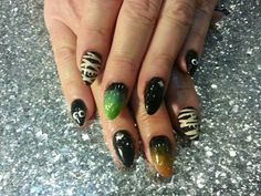 Halloween  Totally Awesome Nails