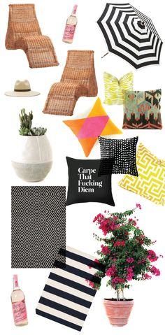 14 pieces to freshen up your outdoor space for summer A Fabulous Fete
