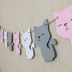 Girl Birthday Decorations, Diy Halloween Decorations, Cat Birthday, 4th Birthday Parties, Adult Party Themes, Cool Paper Crafts, Cat Party, Party In A Box, Paper Flowers Diy