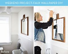 Weekend Project: Galaxy Wall Mini Makeover » Curbly | DIY Design Community