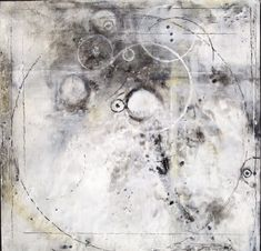 . . . with an artist's hand: First black and white encaustic