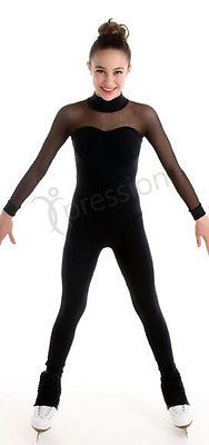 FIGURE SKATING CATSUIT MESH SLEEVES XPRESSION 1517 From stock up to 2 weeks