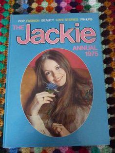 Jackie Annual 1975 by Retroporium on Etsy, Vintage Girls, Vintage Books, Blue Books, My Books, Nice Memories, Child Hood, Biro, David Cassidy, Teenage Years