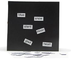 magnetic-poetry via bookmakingwithkids