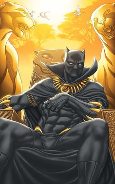 """Black Panther - Art by Ron Garney, Cover by Mike Choi """"INERT"""""""