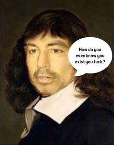 Philosopher Bro Descartes