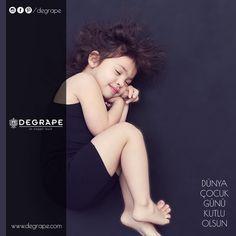 """""""Çocuk sevgisi, insan sevgisi için bir ihtiyaçtır. """" Mustafa Kemal Atatürk 👶🏻👧🏽🧒🏻👦🏼 Dünya Çocuk Günü Kutlu Olsun... #1ekimdünyaçocukgünü #degrape #izmir #home #child #girl"""