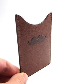 Mustache Pocket Wallet / movember