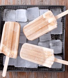 Homemade Popsicle Recipes - Frozen Desserts Recipes. Excellent ideas!!