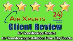 Air Conditioning Repairs Air Xperts Inc Palm City Florida Review 5 Stars
