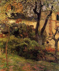 Rouen at spring, 1884, Paul Gauguin