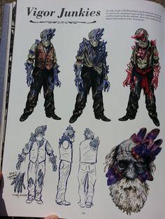 Bioshock infinite vigor junkies (concept art) via Reddit user fishypoopypanties