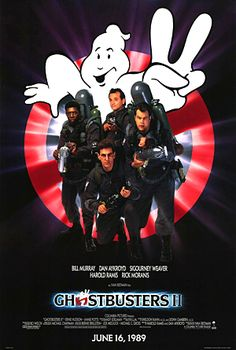 Ghostbusters II ; 1989 - seems like 1989 has many 2nd episode of hit movies... I thought the 2nd of Ghostbusters eve destroyed my good memory of the 1st one... so, I stopped seeing Ghostbusters movie... even though there were a couple of sequels..will see how the latest one will be, which is supposed to launch around Christmas in 2012.