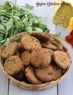 Bajra Dhebra Recipe, Gujarati Tea-time Snack