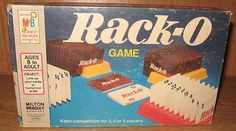 Rack-O ,We played at camp all the time.
