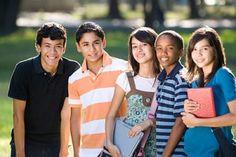 Young-mixed-ethnic-teens