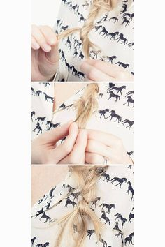 Easy DIY tricks to style your hair. Click here for more.