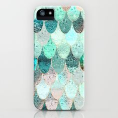 SUMMER MERMAID iPhone & iPod Case by Monika Strigel | Society6 -- $5 Off + Free Shipping on Phone Cases Today!  The iPhone SE will ship on 3/31/16