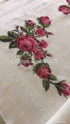 Rose Mehndi Designs, Cross Stitch Rose, Crossstitch, Activities, Embroidery, Stars, Holiday Decor, Christmas, Crafts