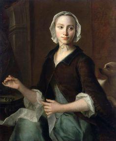 Seamstress, by Christian Seybold
