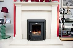 The Cara+ Insert Stove is the ideal solution to replace your inefficient back boiler and open fire with a powerful home heating solution. Inset Fireplace, Dining Room Fireplace, Stanley Stove, Insert Stove, Open Fires, Central Heating, Boiler, Stoves, Hearth