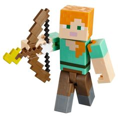 Minecraft Alex with Flaming Arrow Figure - Series 3