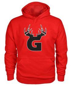 d53255719f622 Bucks of Georgia Antler Logo Hoodie
