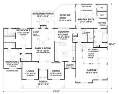 2184 Sq. Ft.   3 Bedrooms   3 Full Baths   1 Story   2 Garages Purchase Option Select Plan Package PDF (recommended)$995 Foundation Options What's included?SlabStandard With Plan Exclusive Options 3-D Intelligent House Plan ® with Material List Other Options Optional Add-Ons SUBTOTAL$995 BUY NOW Additional time may be required for optional foundation design. Ask The Architect About This Plan Other House Plans By This Designer Find Out About 3-D Modeling If your foundatio