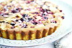 Glutenvrije matcha cake met fruit